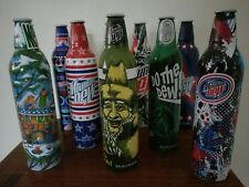 10 Mountain Dew Limited EDITION Label Art 2008 LOT OF 10