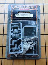 40k Rare oop Blister Metal Chaos Space Marine Beserker Champion of Khorne NIB 2