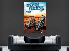EASY Rider POSTER Pellicola Stampa Immagine Parete Arte Chopper Moto motocicletta bici