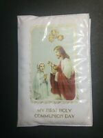 "Vintage My First Holy Communion Day Book Prayer 80""s"