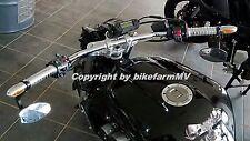 NEU 910  x 22 mm DRAG BAR Lenker Chrom TÜV ABE Motorrad Super Bike Streetfighter
