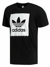 Adidas Men's Short Sleeve Blackbird Trefoil Logo T-Shirt