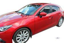 Mazda 3  4/5p 2013-prés htb/berline Deflecteurs d'air Déflecteurs de vent 4pcs