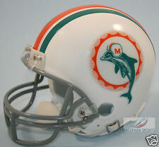 MIAMI DOLPHINS (1972 Throwback) Riddell VSR4 Mini Helmet