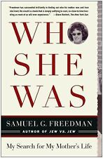 Who She Was by Samuel G. Freedman ( Paperback, 2005) ISBN 9-780743-285117