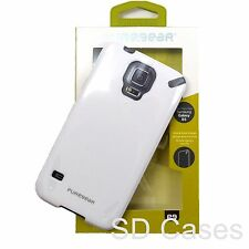 Puregear Glossy White Flexible Slim Shell Protection Case for Galaxy S5