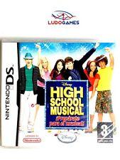High School Musical Nintendo DS PAL/SPA Precintado Videojuego Nuevo New Sealed