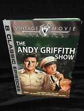 The Andy Griffith Show - 8 Episodes (DVD, 2003) Collectors Edition,wslip cover