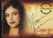 Firefly TV Series Morena Baccarin as Inara Serra A3 Auto Card Serenity