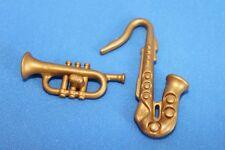 Playmobil Instruments de musique Saxophone & TRUMPET NOUVEAU - Maison de poupée
