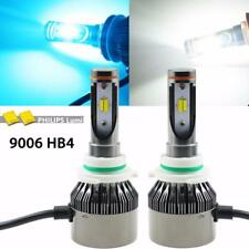 Dual Color White Ice Blue 9006 HB4 LED High Low Beam Light Hi/Lo Headlight