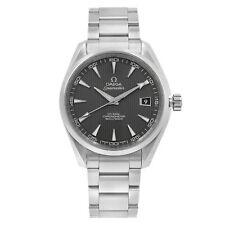 Omega Aqua Terra Gris Dial Reloj De Acero Automático para Hombre 231.10.42.21.06.001