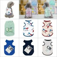Summer Various Puppy Pet Dog Cat T-Shirt Vest Shirt Small Dog Clothes Costumes