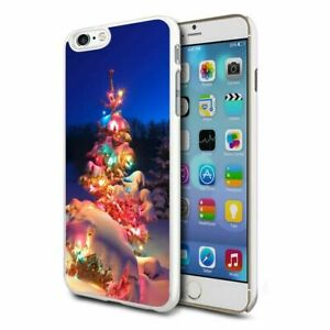 Premium Design Hard Case Cover for Various Mobiles - Xmas Pretty Tree