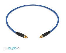 Gotham GAC-1 S/PDIF Pro SPDIF Cable | Black Amphenol RCA | Blue 1 Feet 1 Ft. 1'