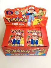 88 Pokemon Merlin Stickers Packets Topps Series 1 - 1999 Cards