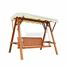Wooden Up to 3 Garden Chairs, Swings & Benches