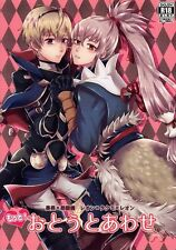 Fire Emblem Fates YAOI Doujinshi Comic Tentacles x Leo x Takumi More Coupled Lit