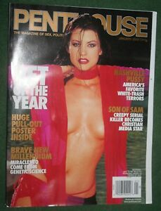 Playboy Jan 2000 POM Nicole Marciano POY Juliet Cariaga Russell Simmons