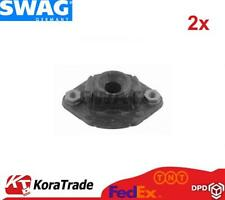 2x SWAG 20934393 REAR AND SHOCK ABSORBER TOP MOUNT CUSHION SET