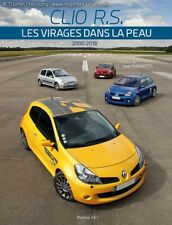 LIVRE book NEUF new CLIO RS RENAULT SPORT (all) + 2 CLIO V6 + intro WILLIAMS/16S