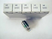 5 Pcs NOS GE 6485 Audio / Radio Vacuum Tubes NIB (Premium 6AH6)