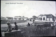 DUTCH INDIES ~ INDONESIA ~ EAST JAVA~1900's SOERABAJA~JULIANA BOULEVARD