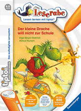 Ravensburger TIPTOI The Small Drache Children's Book Picture Game Lesen Learn