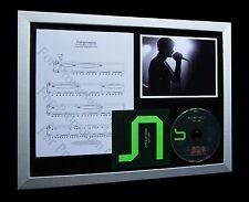 JOY DIVISION Transmission LIMITED Numbered CD QUALITY MUSIC FRAMED DISPLAY!!