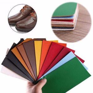 7 Farben PU Lederreparatur Kunstleder Flicken Selbstklebend Patch Farben