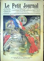Le Petit Journal N°891 du 15/12/1907 Les Chefs Arabe, Mort d'un officier de Spah