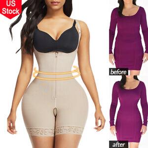 Womens Fajas Colombianas Reductoras Levanta Cola Post Parto Surgery Body Shaper