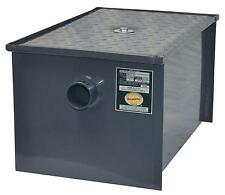 BK Resources BK-GT-50 50 lb Grease Trap Interceptor 25 Gallons Per Minute
