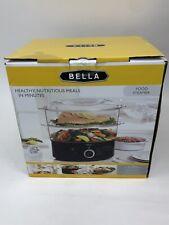 BELLA - 7.4 Qt Healthy Food Steamer W/ 2-Tier Stackable Baskets