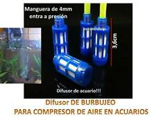 PIEDRA DIFUSORA para COMPRESOR  Aire Oxigenador Acuario difusor co2