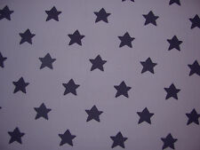 Cath Kidston FQ 50cm square stars lightweight 100% cotton fabric children