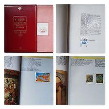 LIBRO DEI FRANCOBOLLI BUCA DELLE LETTERE ANNO 1990 COMPLETO