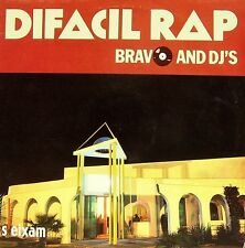"BRAVO AND DJ´S-DIFACIL RAP MAXI SINGLE 12"" VINYL 1989 SPAIN GOOD COVER CONDITION"