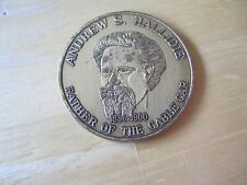 San Francisco, CA. Cabel Car Centennial Medal, 1873-1973/Andrew S. Hallidie