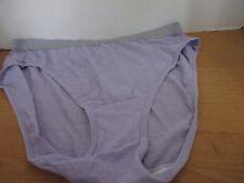Fruit of the Loom Fit for Me~Purple HI-CUT BRIEFS Panties~Women's 9~NWOT