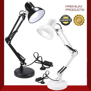 LED Schreibtischlampe Gelenkarm Leselampe Arbeitsplatzleuchte Lampe mit Gelenk