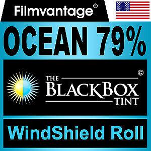 """WINDSHIELD TINT ROLL 79% VLT 36""""x70"""" FOR HUMMER"""