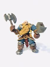 World of Warcraft Blizzard Figure 2002 Dwarf Muradin Bronzebeard