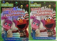 Sesame Street Elmo's Christmas Countdown DVD BRAND NEW FACTORY SEALED