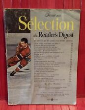 Reader's Digest Magazine , February  1955, Maurice Richard on the cover .