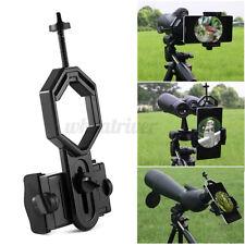 Handy Teleskop Fernglas Halter Adapter für  Monokular Fernrohr Mikroskop usw