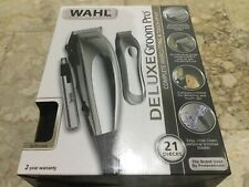 wahl 21 pieces witn beard trimmer and nose trimmer, new never been use, 220volts