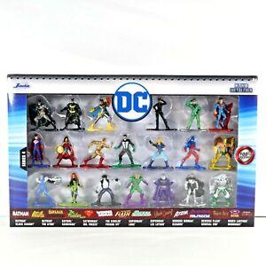 "Jada * DC Comics 20-Piece Set Series 4 Nano Metalfigs Metal Mini Figures 1 2/3"""