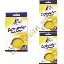More details for dishwasher freshener cassettes long lasting lemon scent 6, 12 or 24