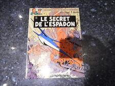 belle reedition blake et mortimer le secret de l'espadon tome 2